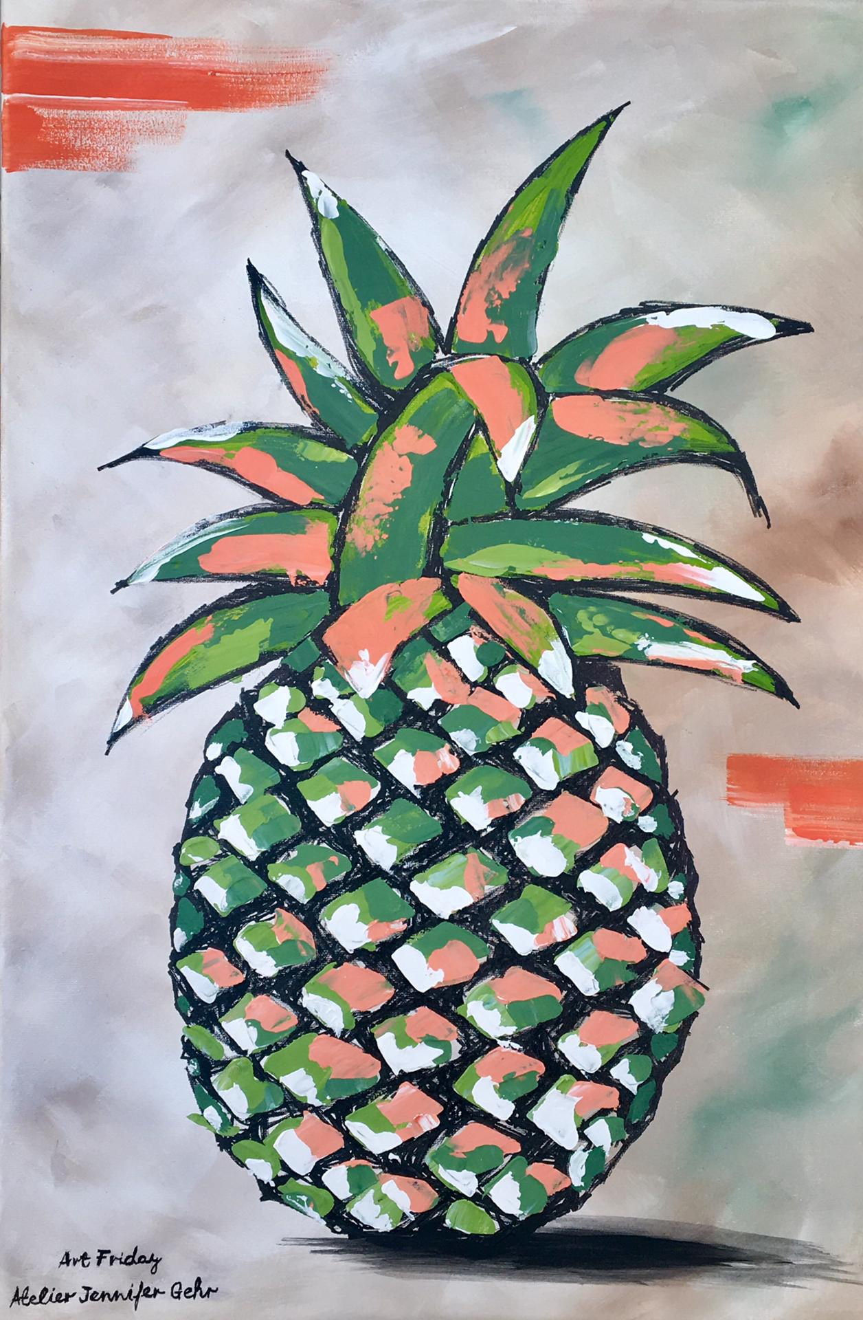 Art Friday Ananas Jennifer Gehr