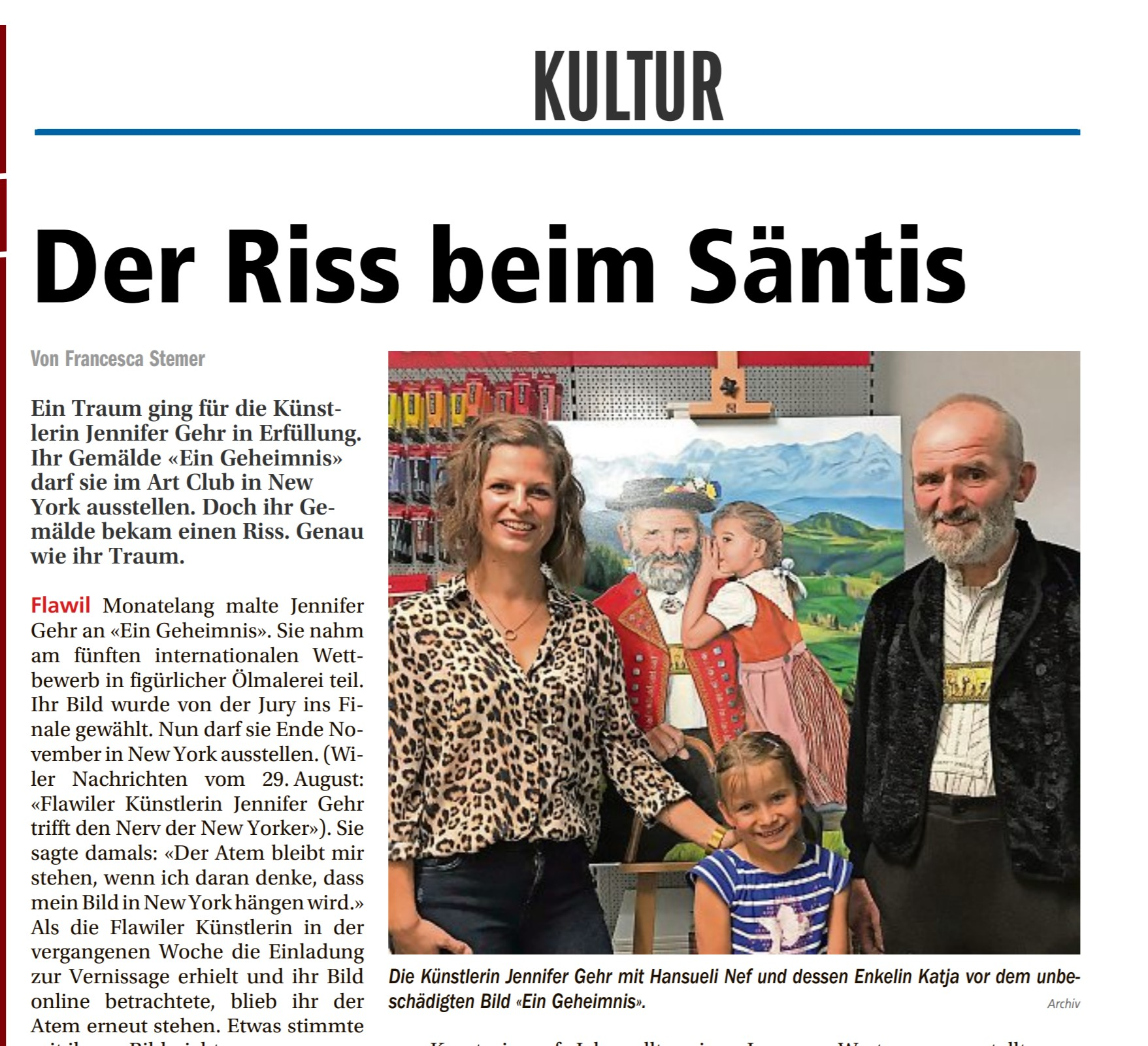 Wiler_Nachrichten_Riss